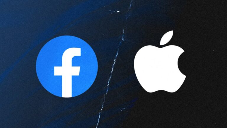 Facebook has removed the verification badge from Apple's Facebook page