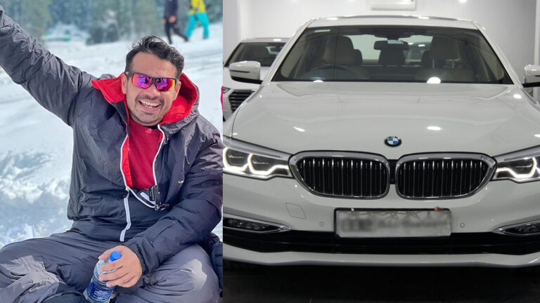Gaurav Taneja purchased BMW 5 Series worth Rs 60 Lacs